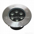 6*1W Outdoor LED Ground Embeded Light IP67