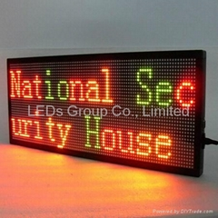 Customized Single and Double Color LED
