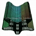 Flexible P20 LED Curtain Display (P10,