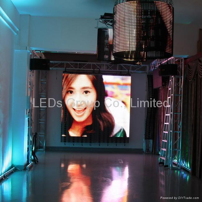 Flexible P20 LED Curtain Display (P10, P15.625, P31.25) 5
