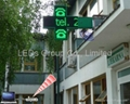 P10 Two Color LED Pharmacy Cross Display (2D/3D) 3