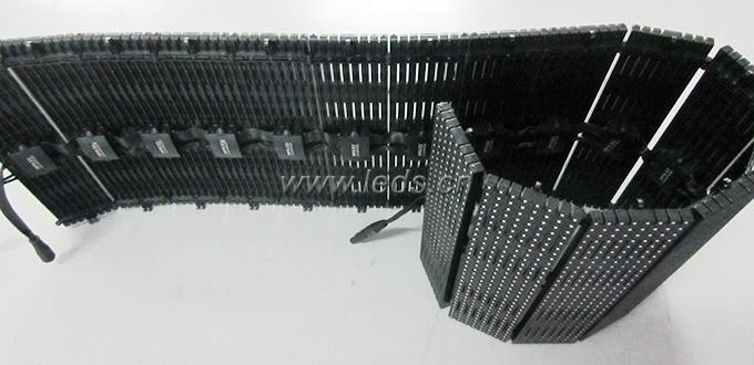 P10 High Density LED Flexible Curtain Stage Screen 4