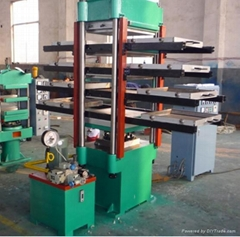 rubber tile press machine