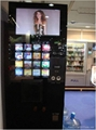 Advertising espresso coffee vending machine