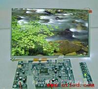 10.2寸液晶模組(群創AT102TN03液晶屏及驅動板)