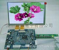 7寸液晶模組(群創AT070TN82V.1液晶屏及驅動板)