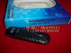 华为最新出版3G无线上网卡 EC122