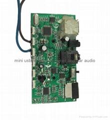 Mini usb with IPOD docking