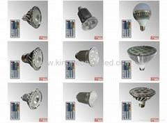 RGB LED Bulbs