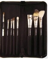 Free shipping MAC 8pcs brush set