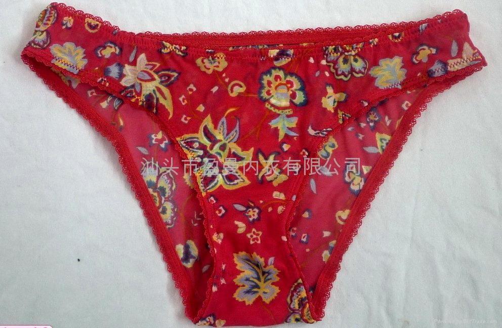 OEM贴牌生产女内裤 1