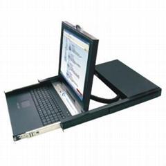 科瑞森8端口17寸LCD智能PS2-KVM切換器