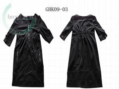 女式針織連衣裙