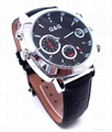 HD1080P IR Watch Camera with Motion Detection Recording with Time and Date Stamp