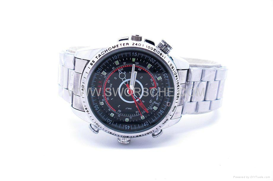 HD Watch Camera with 1280x960 Video Resolution and Separate Voice Recording 2