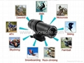 HD Helmet Camera with 1.3Mega Pixels 640x480 VGA Support TV Out Function Max 8G
