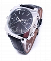 1280x720P Watch Camera with Metal Band or Leather Band Watch for Option