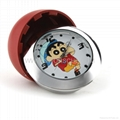 Mini Table Clock Camera with 1280x960 and IR NightVision and Motion Detection