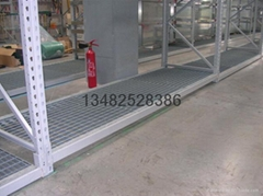 供应仓储货架镀锌钢格栅板