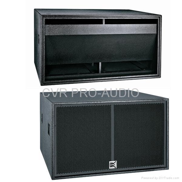 18' PA subwoofer speaker box 1
