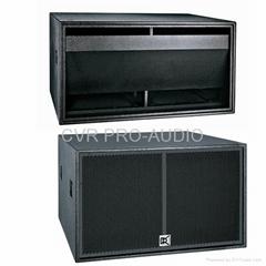 18' PA subwoofer speaker box