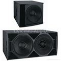 18' PA subwoofer speaker box 2