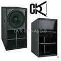 18' PA subwoofer speaker box 3