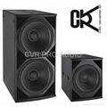18' PA subwoofer speaker box 5