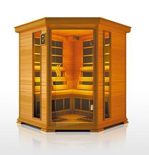 red cedar infrared sauna room deluxe china manufacturer sauna room construction. Black Bedroom Furniture Sets. Home Design Ideas