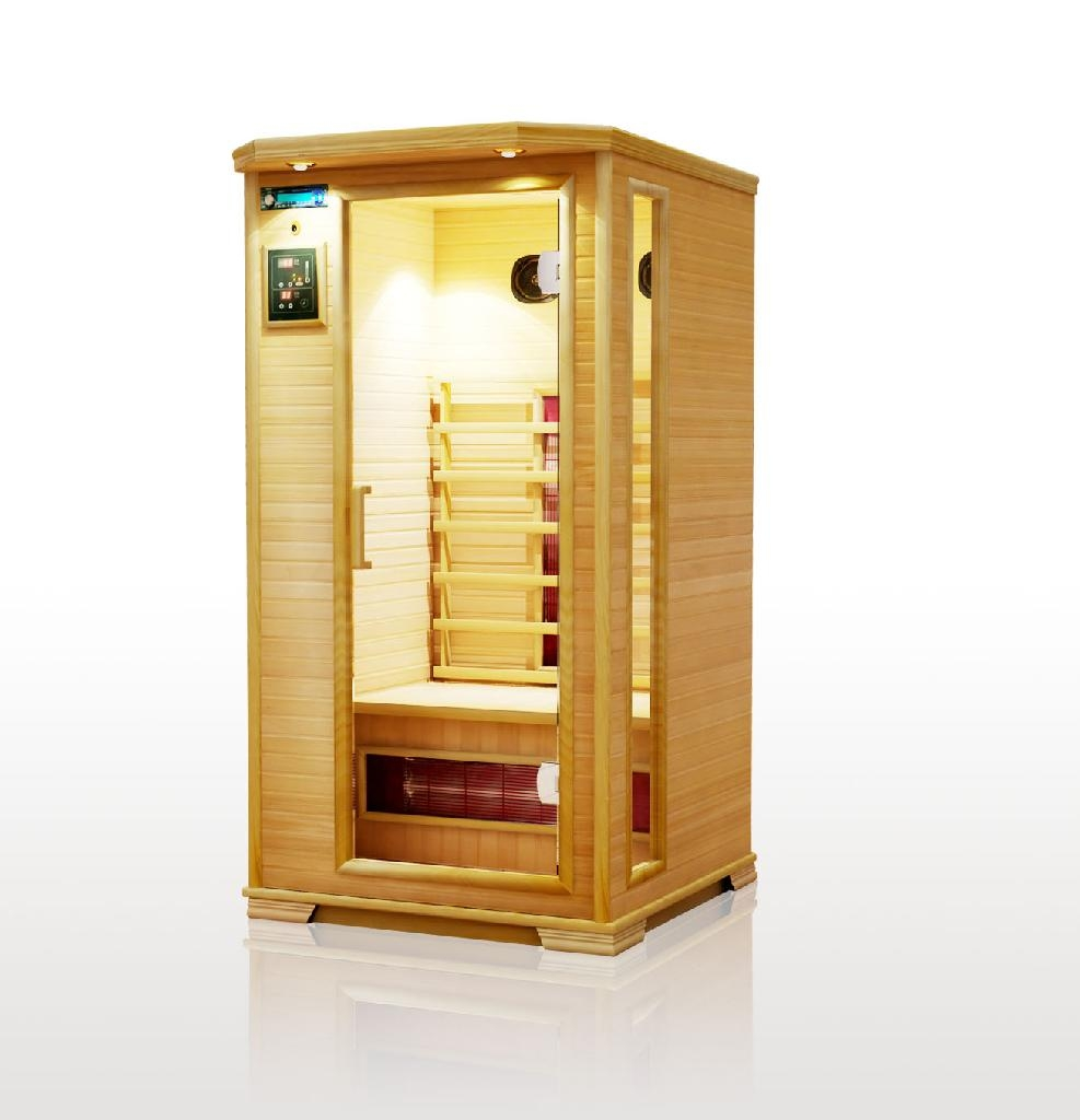 Infrared portable home sauna l02 china manufacturer for Sauna home