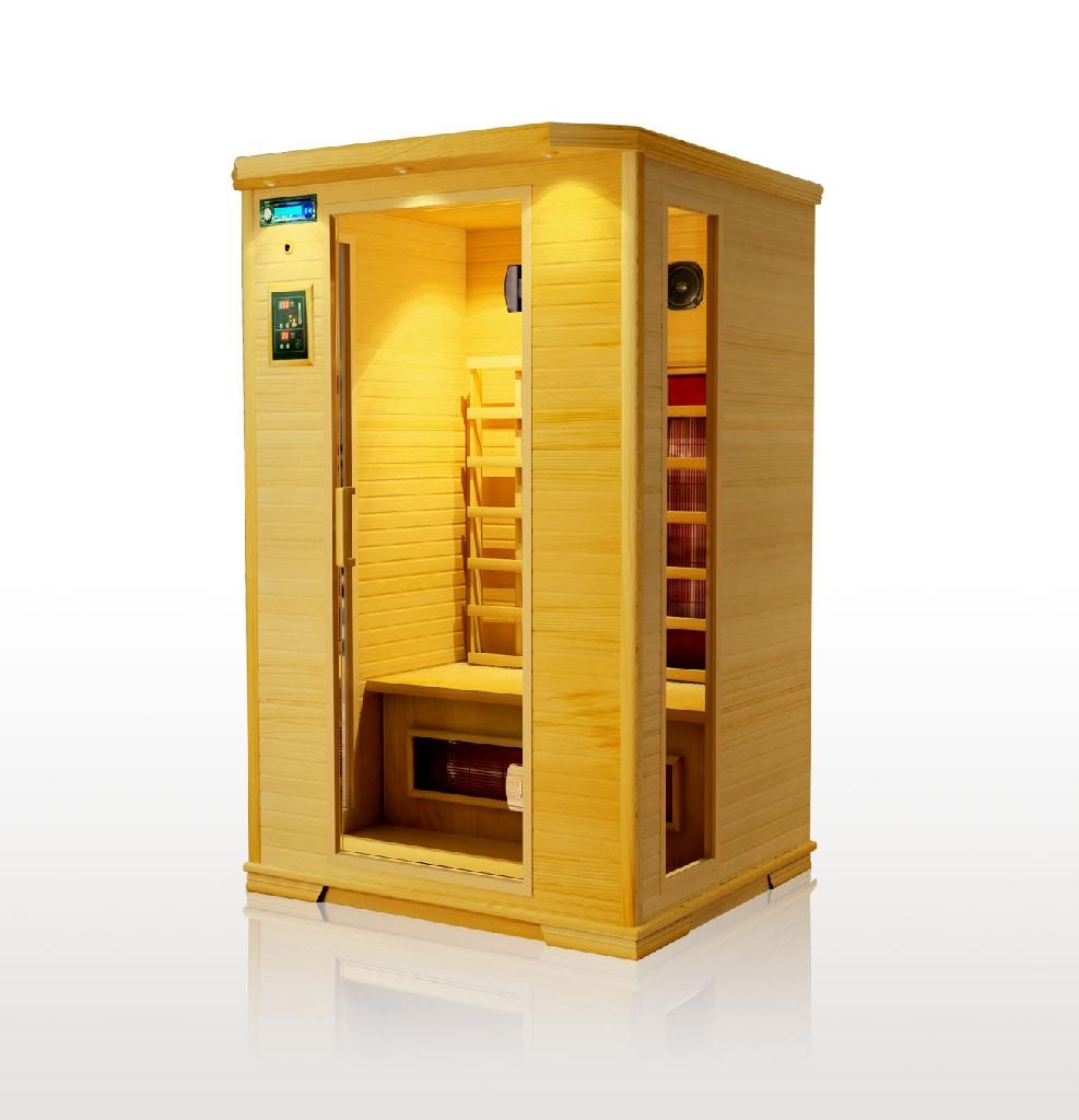 Infrared portable home sauna l02 china manufacturer for Cost of building a home sauna