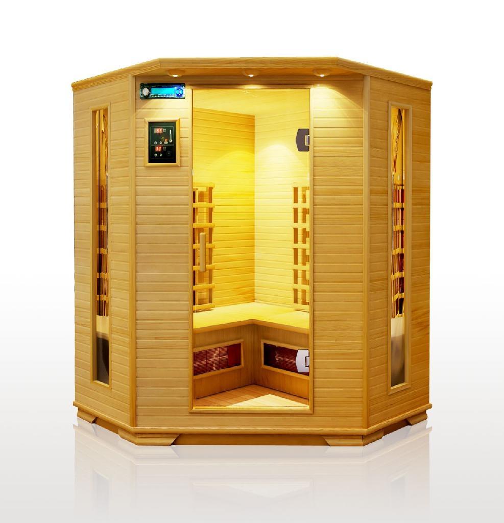 infrared portable home sauna l02 china manufacturer. Black Bedroom Furniture Sets. Home Design Ideas