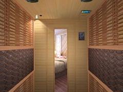 Tourmaline sauna /dry sauna room