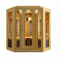carbon firber infrared sauna room