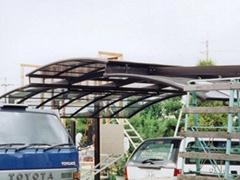 温室大棚pc阳光板十年质保