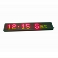 Indoor LED sign RGY color 1 line