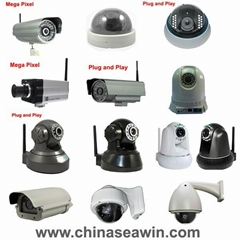 wireless wired IP camera IP Webcam IP cam