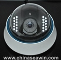 H.264 Dome IP Camera ( with IR CUT )