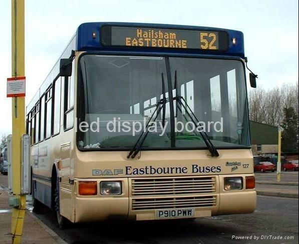巴士LED線路指示牌 1