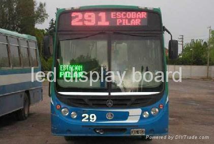 巴士LED線路指示牌 2