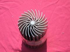 Sun-Flower Heatsink Profile for LED Light