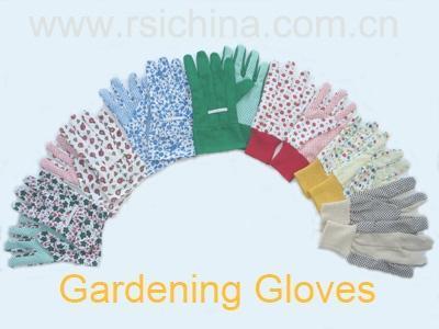 flower design garden gloves China Manufacturer