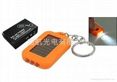 太陽能LED手電筒