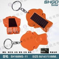 指南針2燈手電筒,太陽能手電筒 廣告促銷禮品