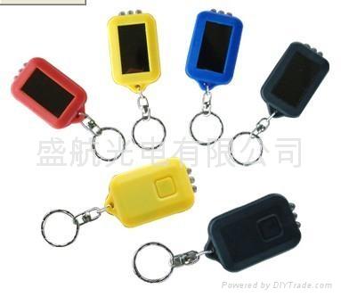 太阳能钥匙扣手电筒 2