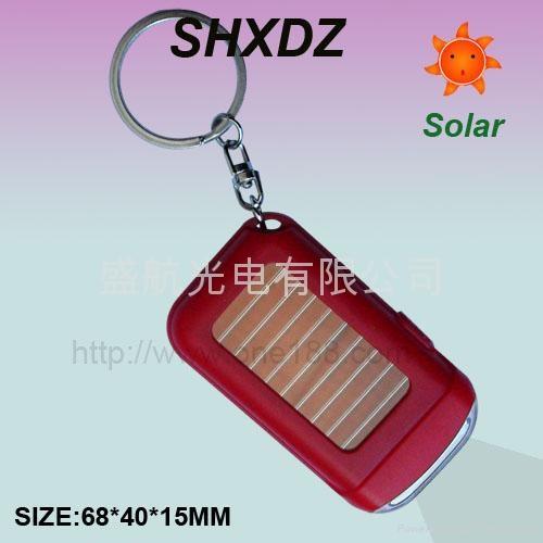 太阳能钥匙扣手电筒 3