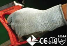 涤棉乳胶手套