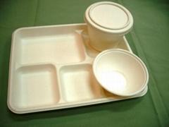 biodegradable fibre catering tableware