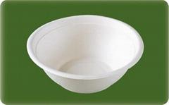 eco-friendly sugarcane soup bowl