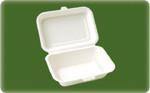 biodegradable bagasse food container/clamshell/lunch box